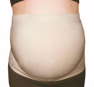 Graviditetsbælte - støtte til gravid mave.